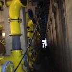 Układ mieszania gazu DN150,  DN100